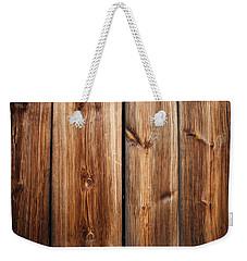 Vintage Wood Planks Weekender Tote Bag