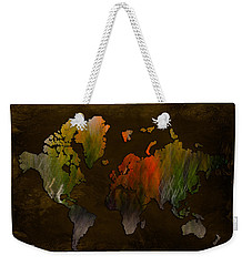 Vintage World Weekender Tote Bag
