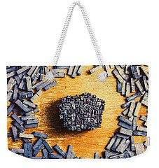 Vintage Writers Block Weekender Tote Bag