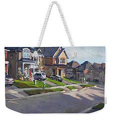 Viola's House In Georgetown On Weekender Tote Bag