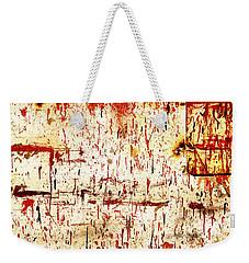Violent Red Weekender Tote Bag