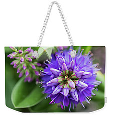 Violet Burst Weekender Tote Bag