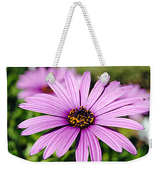 The African Daisy 1 Weekender Tote Bag by Isam Awad