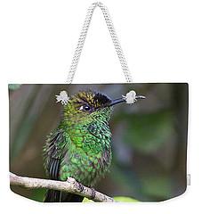 Violet-fronted Brilliant Weekender Tote Bag