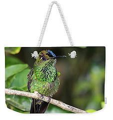 Violet-fronted Brilliiant Weekender Tote Bag