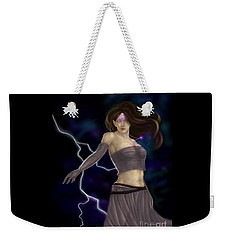 Violet Magic Weekender Tote Bag