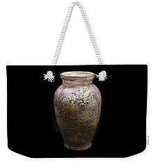 Violet Vase Weekender Tote Bag