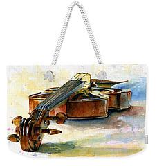 Violin 2 Weekender Tote Bag by John D Benson