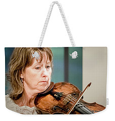 Violin Concentration Weekender Tote Bag