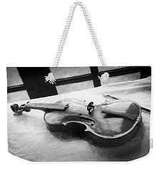 Violin Weekender Tote Bag