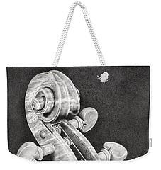Violin Scroll Weekender Tote Bag