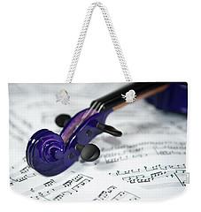 Violin Tuning Pegs  Weekender Tote Bag