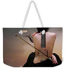 Violin Woman Weekender Tote Bag