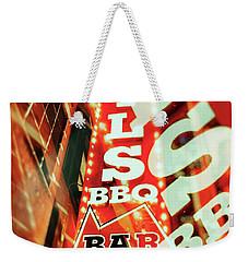 Virgils Real Bbq New York City Weekender Tote Bag