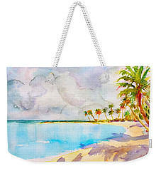 Virgin Clouds Weekender Tote Bag