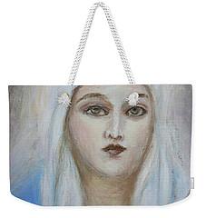 Virgin Mary Weekender Tote Bag