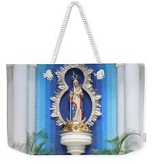 Virgin Mary Shrine Weekender Tote Bag