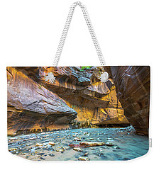 Virgin River Narrows Weekender Tote Bag