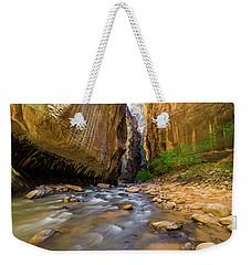 Virgin River - Zion National Park Weekender Tote Bag
