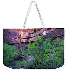 Virgin River Zion National Park Weekender Tote Bag