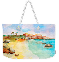 Virgin Rocks Weekender Tote Bag