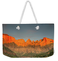 Virgin Sunset Weekender Tote Bag