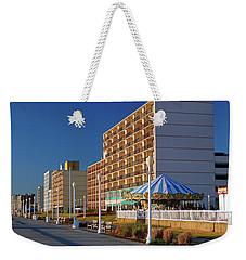 Virginia Beach Boardwalk Weekender Tote Bag