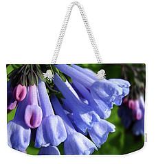 Virginia Blue Bells Weekender Tote Bag