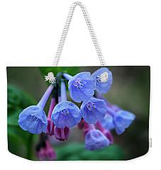 Blue Bells Weekender Tote Bag by William Tanneberger