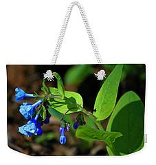 Virginia Bluebells Weekender Tote Bag