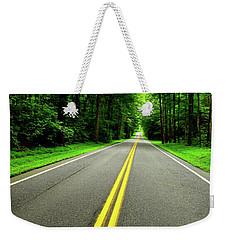 Virginia Road Weekender Tote Bag