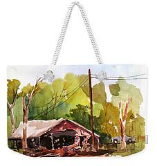 Virginia Saw Mill Weekender Tote Bag