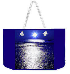 Virtual Sea Weekender Tote Bag