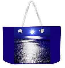 Virtual Sea Weekender Tote Bag by Tatsuya Atarashi