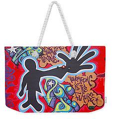 Vision Weekender Tote Bag by  Newwwman