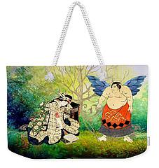 Vision Of Angel Weekender Tote Bag