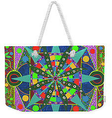 Vision - The Dna Of Plants Weekender Tote Bag