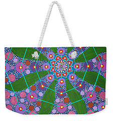 Visions Of The Amethyst Beyond  Weekender Tote Bag