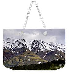 Visit Alaska Weekender Tote Bag