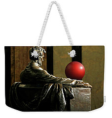 Weekender Tote Bag featuring the photograph Visiting Lincoln by Christopher McKenzie