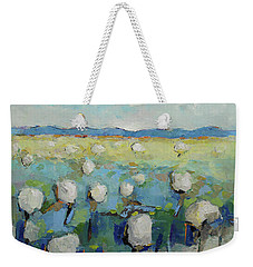 Visiting Town 1601 Weekender Tote Bag by Becky Kim