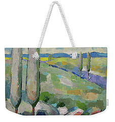 Visiting Town 1602 Weekender Tote Bag by Becky Kim