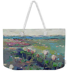 Visiting Town 1603 Weekender Tote Bag by Becky Kim