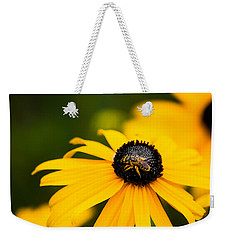 Visitor In The Garden Weekender Tote Bag by Shelby  Young