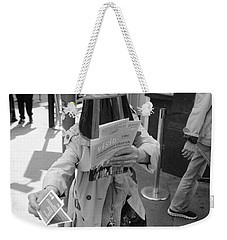 Visored Weekender Tote Bag