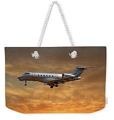 Vista Jet Bombardier Challenger 300 2 Weekender Tote Bag