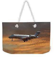 Vista Jet Bombardier Challenger 300 3 Weekender Tote Bag