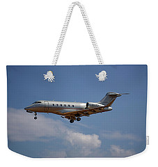 Vista Jet Bombardier Challenger 300 4 Weekender Tote Bag