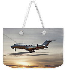Vista Jet Bombardier Challenger 300 Weekender Tote Bag