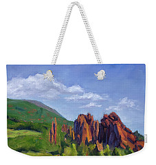 Vista Of The Gods Weekender Tote Bag